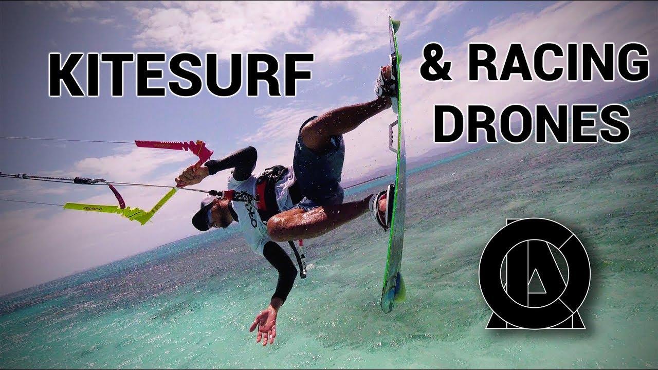 drone kite surf