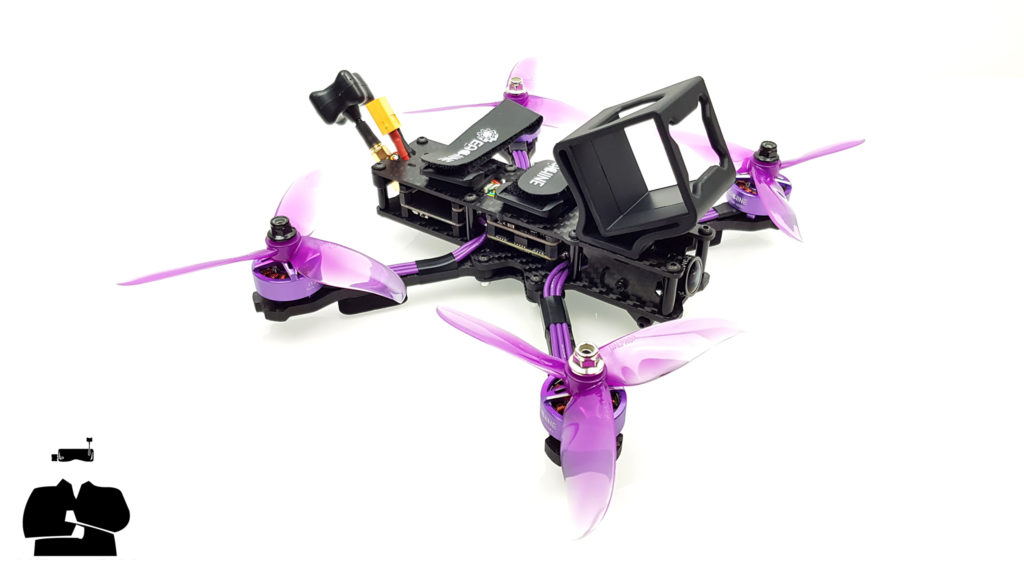 tuto montage eachine wizard x220hv how to assembly repare gopro mount