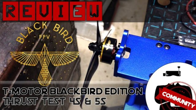 test t-motor blackbird edition