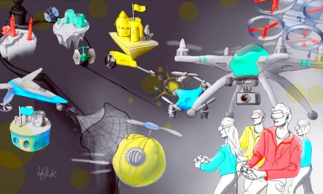 drone clash
