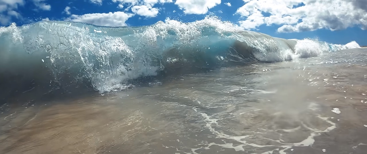 drone fpv vague tube wave