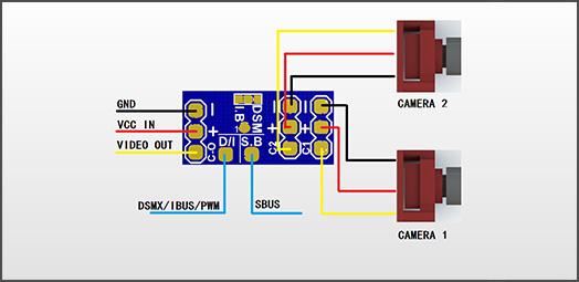 cablage vifly cam switcher wiring