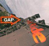 Wall ride through Gap