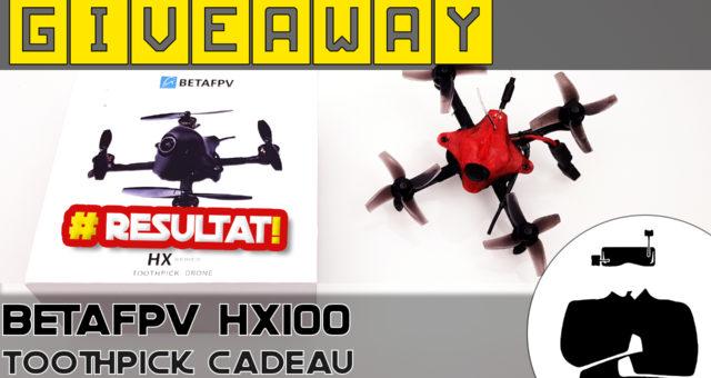BetaFPV HX100 Canopy TPU Rouge