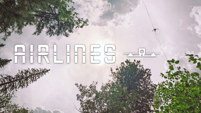 airlines drones fpv