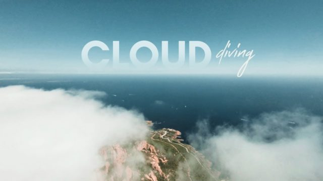 drone fpv cloud diving