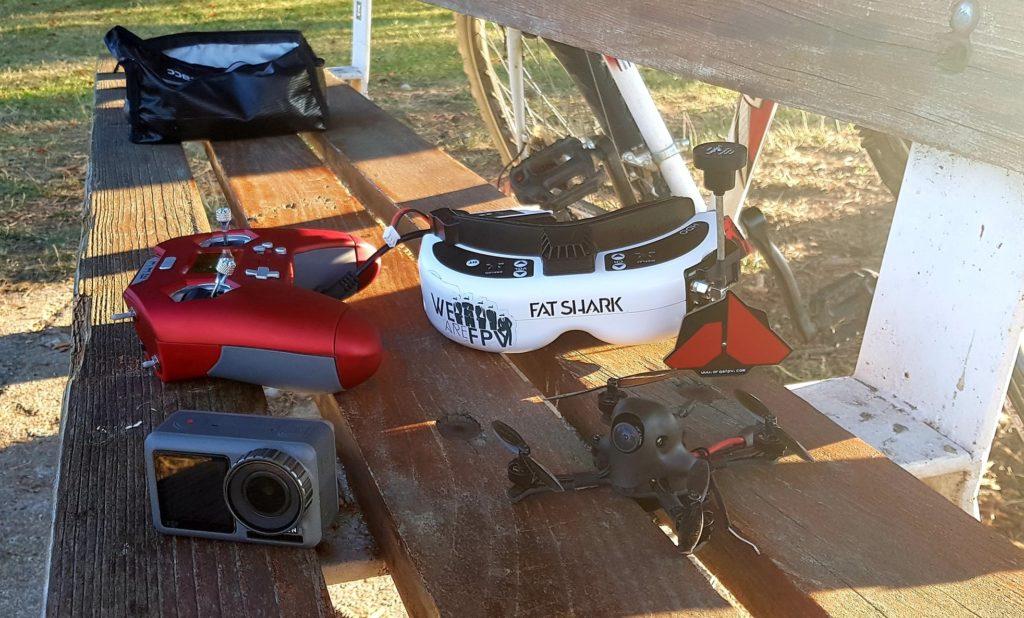 premier drone fpv racer