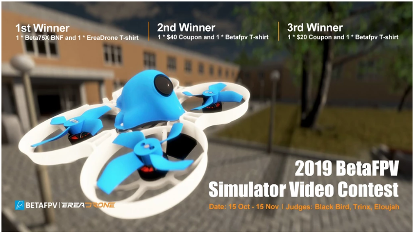 concours pilotage drone fpv tinywhoop betafpv