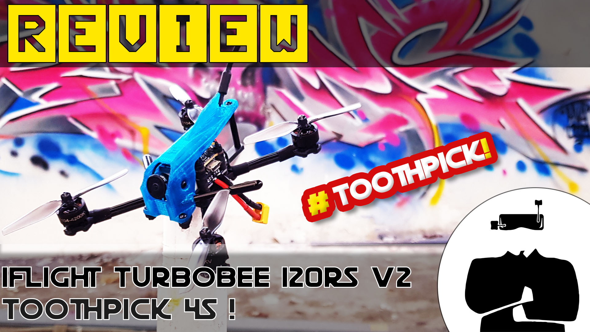 test iFlight TurboBee 120RS V2, le test