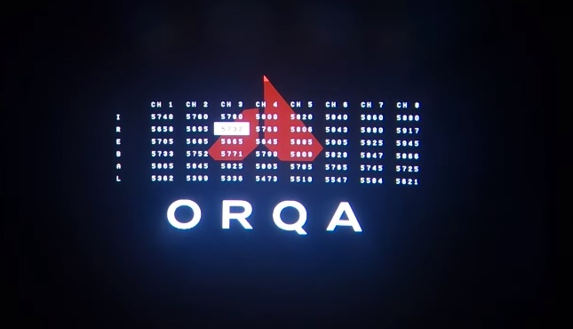 Orqa FPV One channel mapping
