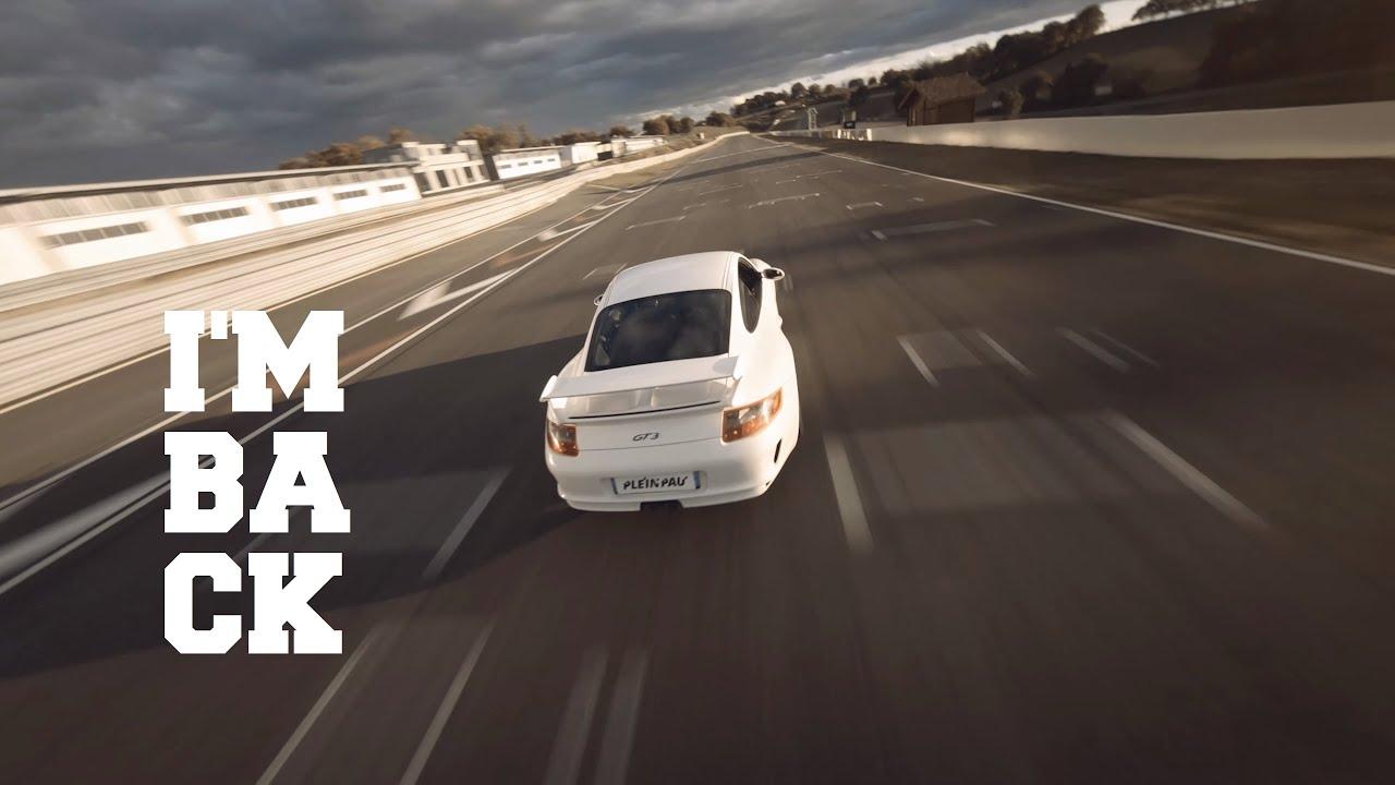 drone fpv chasing car