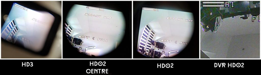 Comparatif foxeer wildfire OSD