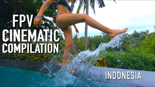 indonésie drone fpv sexy