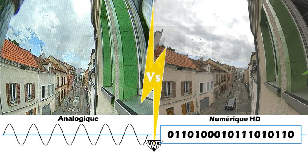 Analogique Vs Numérique HD