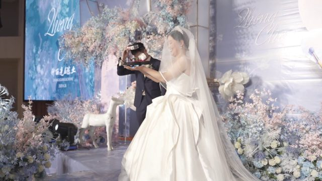 mariage drone fpv