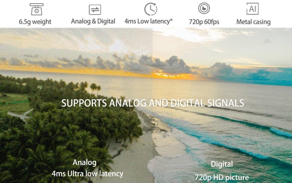 Eachine Airsight Analog VS Digital
