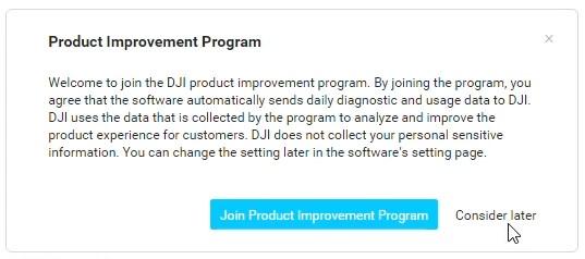 Tuto activation DJI Digital FPV System 08 - Programme d'amélioration