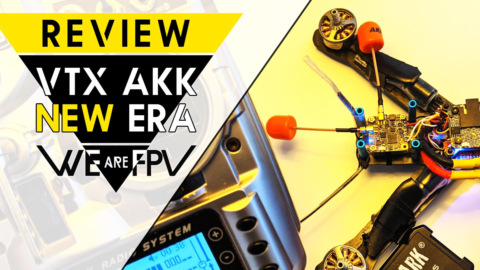 Test AKK New Era Dual Antenna vTx