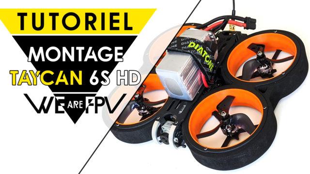 Tuto Montage Diatone Taycan 6S HD DJI FPV