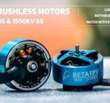moteurs betafpv 1606 1550KV