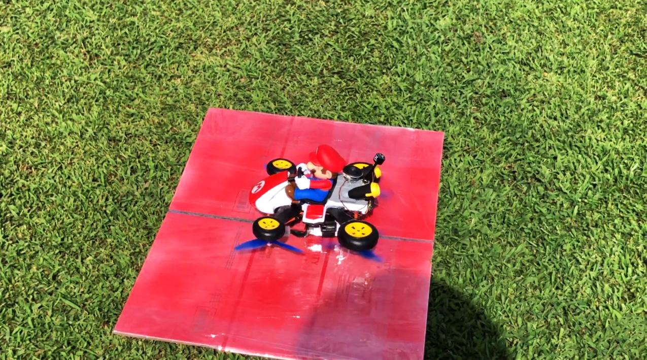 mario kart drone fpv