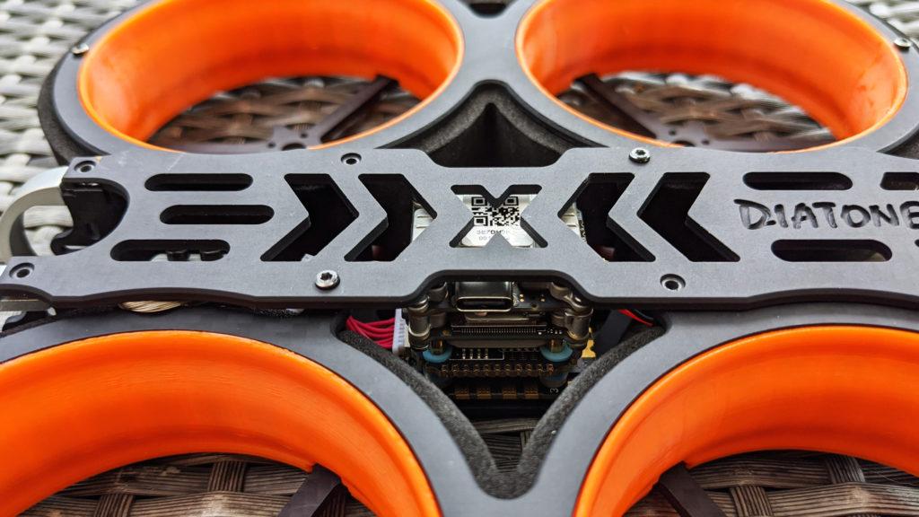 montage diaton taycan caddx vista