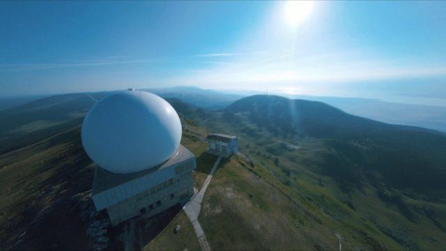 station radar jura drone fpv