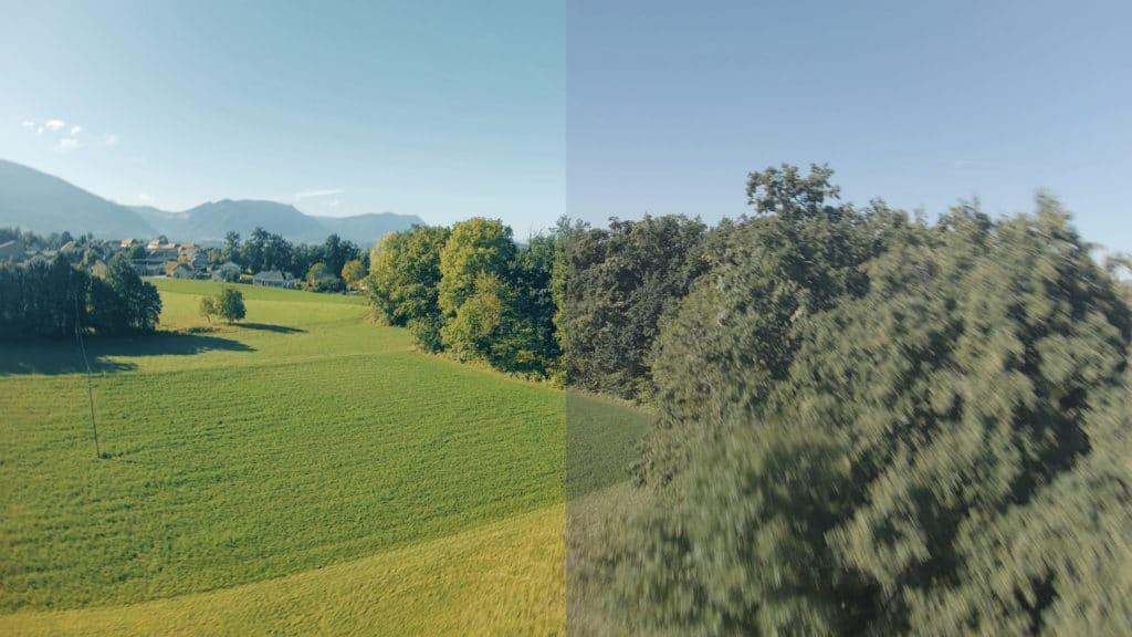 tuto colorimétrie drone fpv