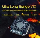 test AKK Ultra Long Range VTX 3000mW
