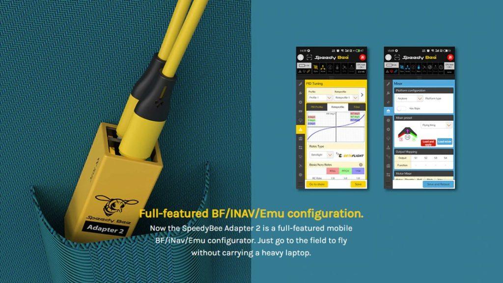 emuflight betaflight inav configurator speedy bee