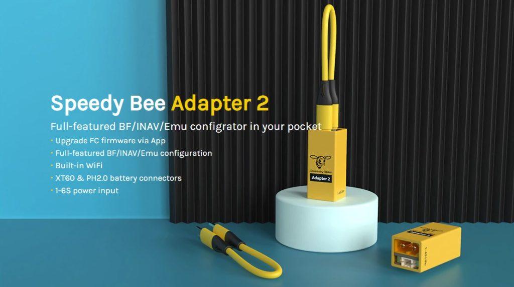 fonctionnalités Speedy Bee V2