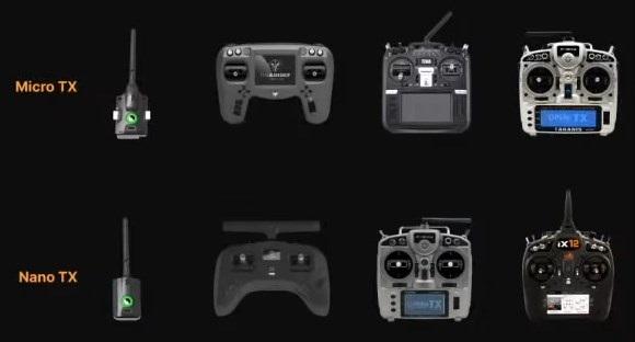 les radios compatibles