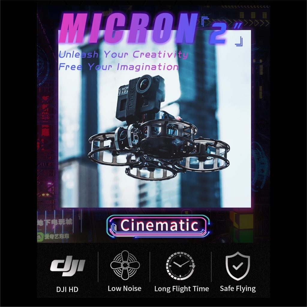 hom fpv MICRON 2 outdoor