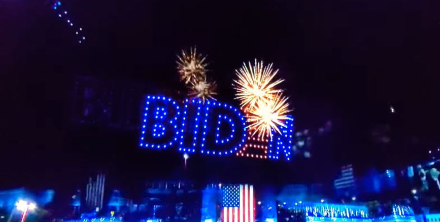 joe biden fireworks feu artifice
