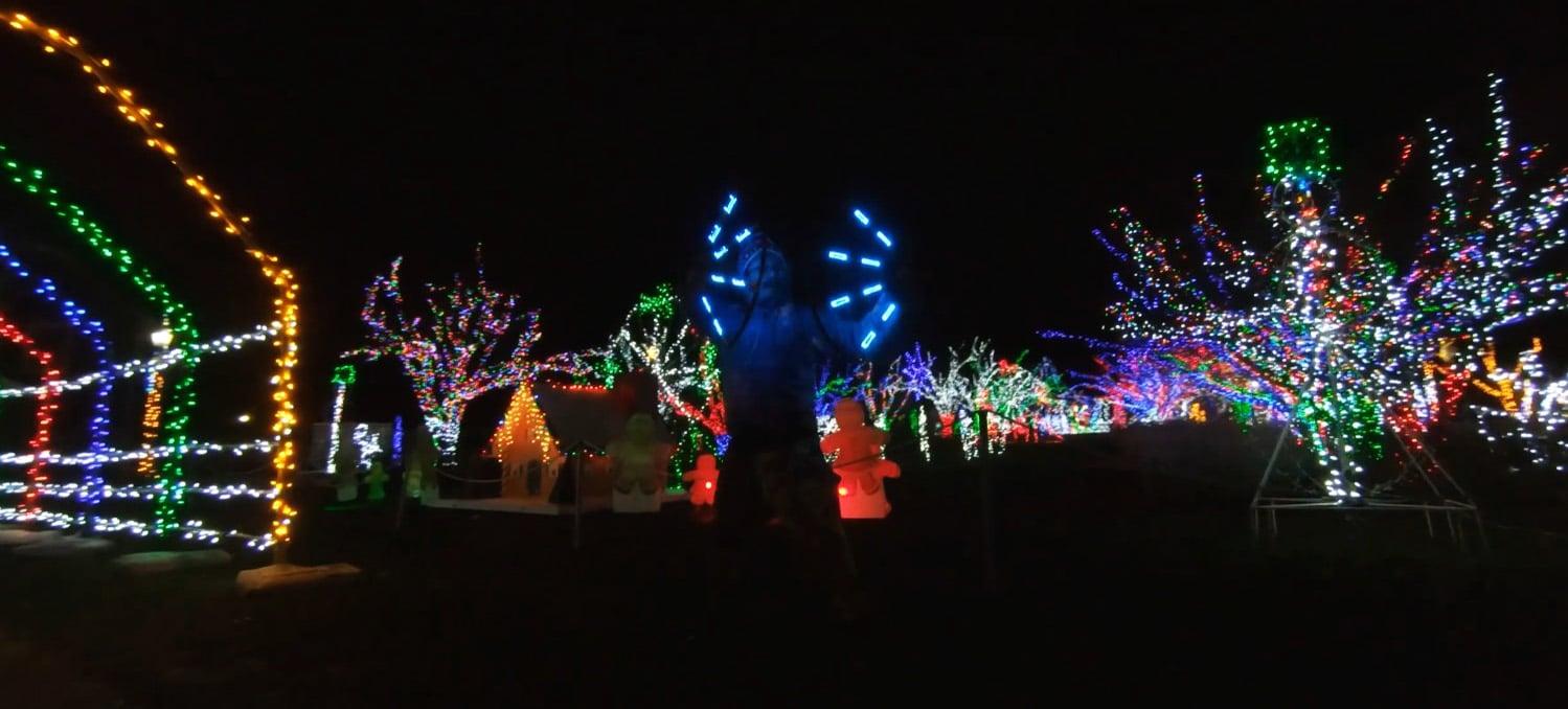 Adams Park Lights By Drone FPV