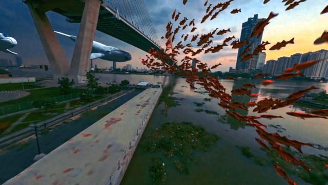 drone fpv réalité virtuelle