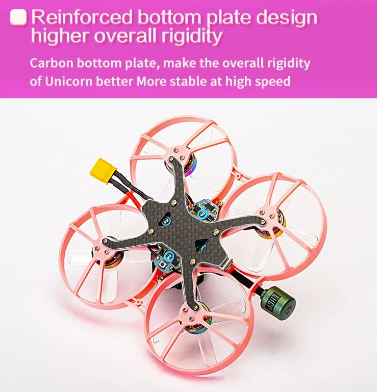 Châssis Carbone Tiny Whoop Unicorn 2