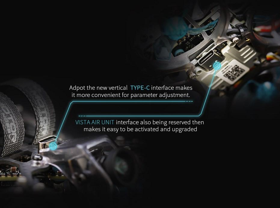 T-Motor F4 HD AIO USB Type-C