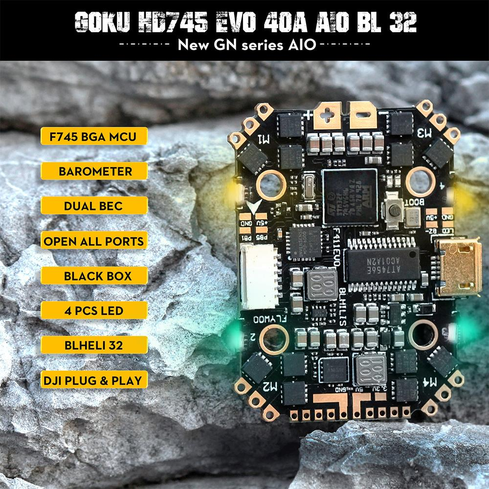 GOKU HD745 EVO 40A AIO BLHeli_32