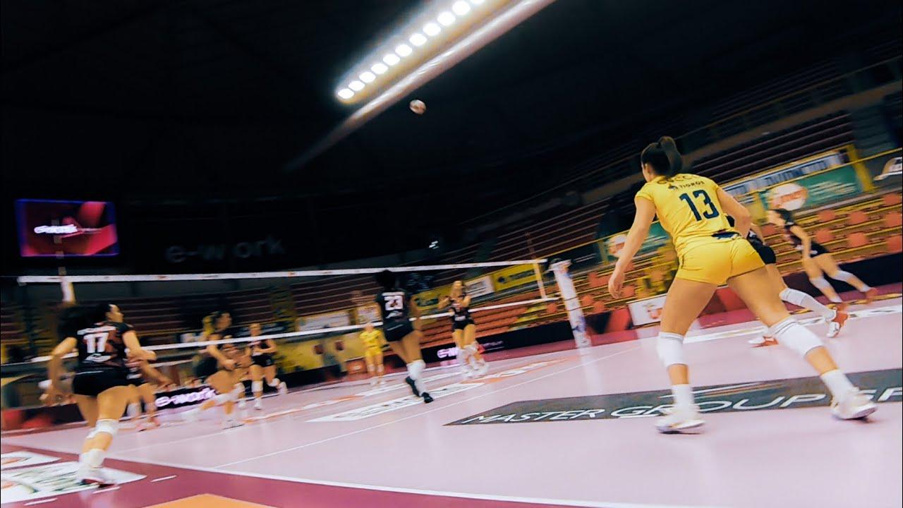 drone fpv vs volley ball