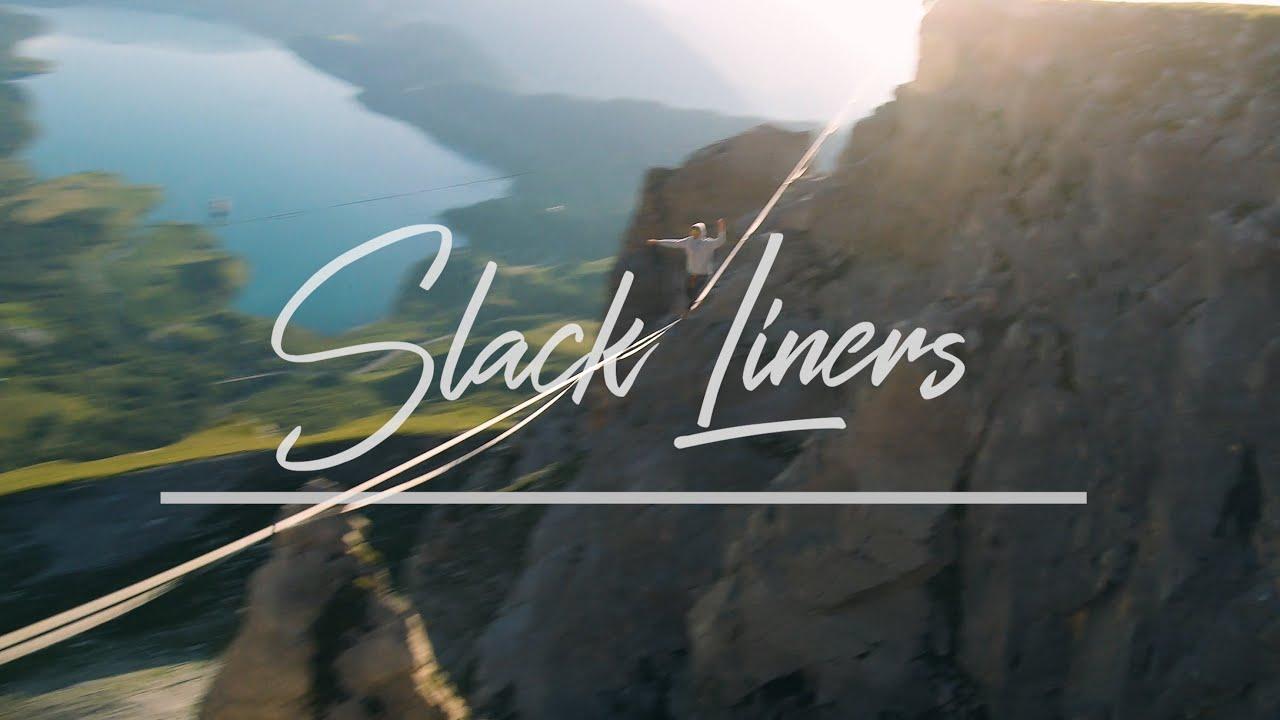 slack liners drone fpv