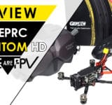 test GEPRC Phantom HD Review Settings