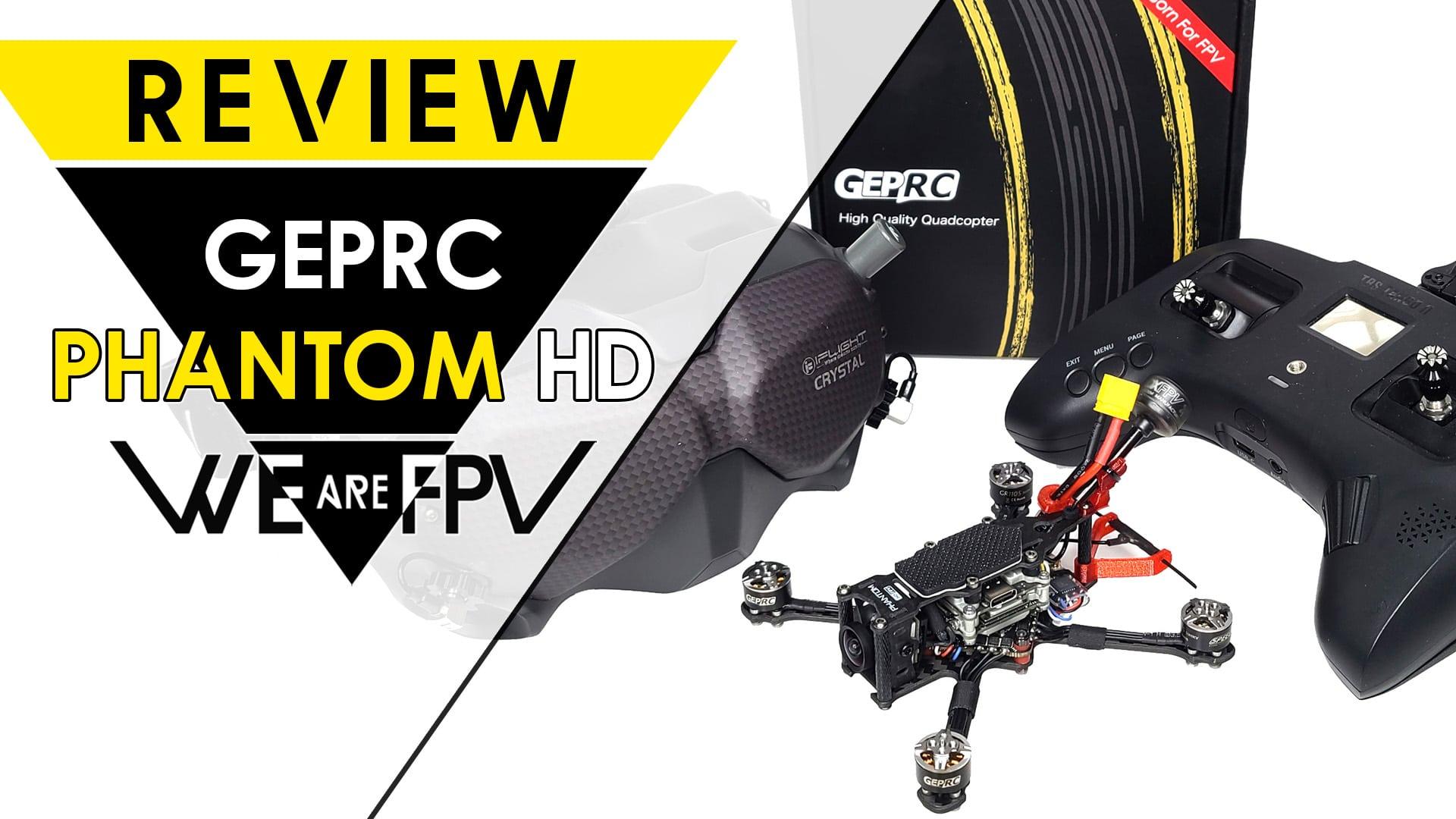 test GEPRC Phantom HD Review Settings
