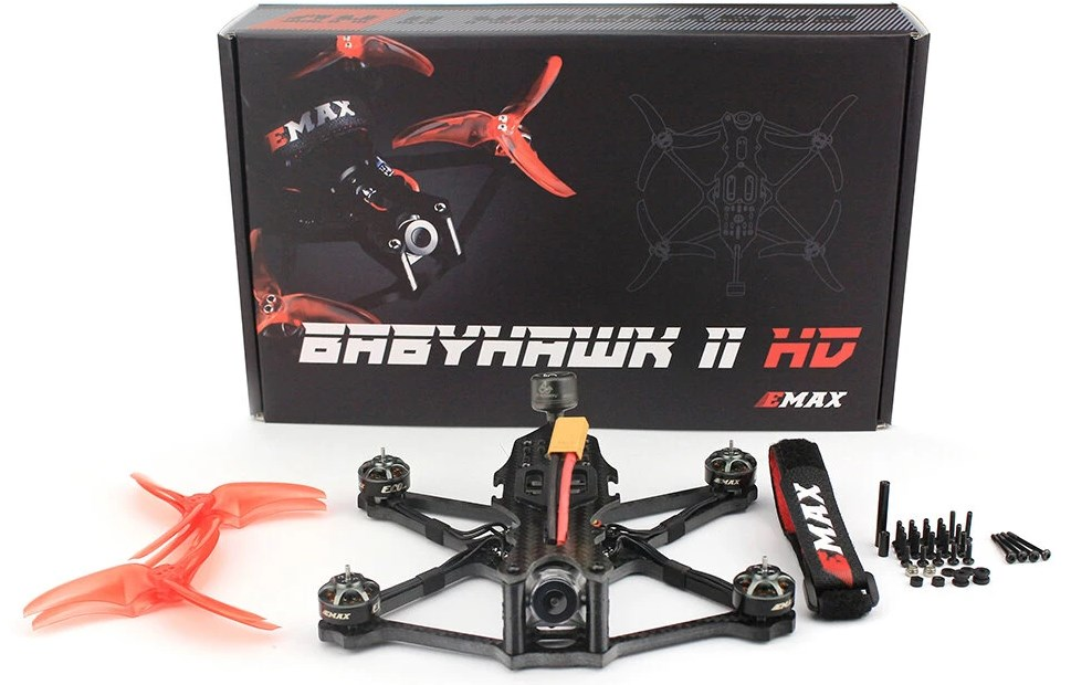packaging emax babyhawk ii hd