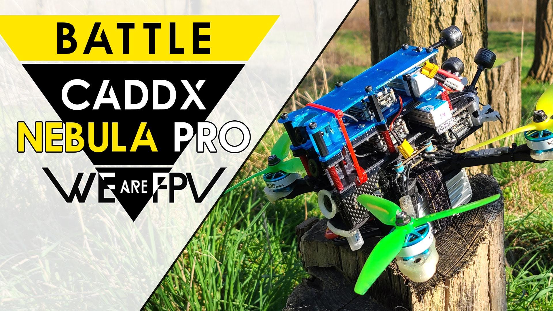 test caddx nebula pro