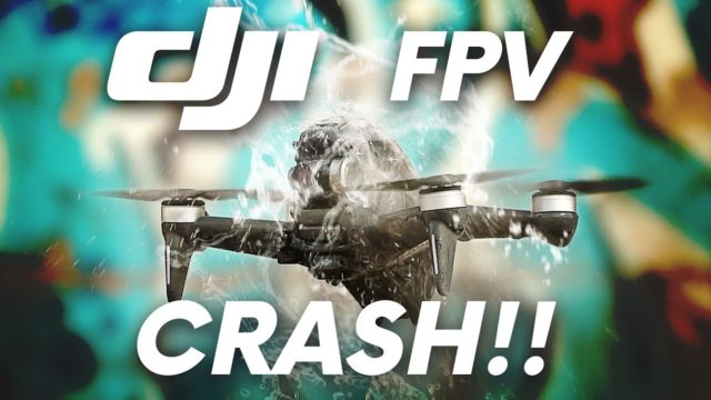 test dji fpv flash crash
