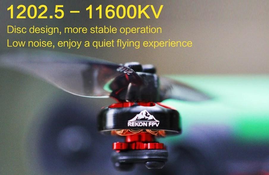 Moteurs Rekon 3 Nano Long Range 1202.5