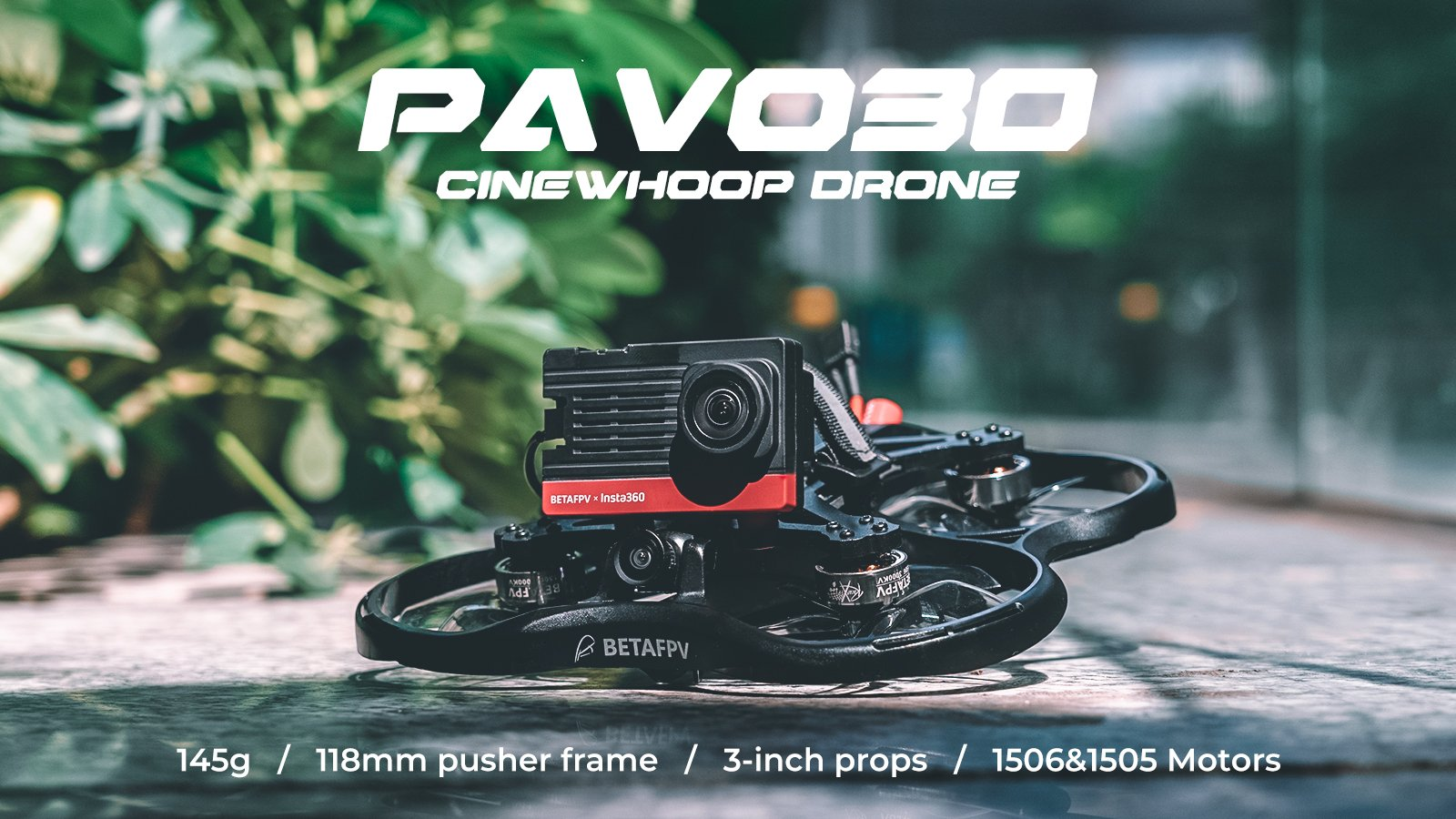 test betafpv pavo30 cinewhoop review