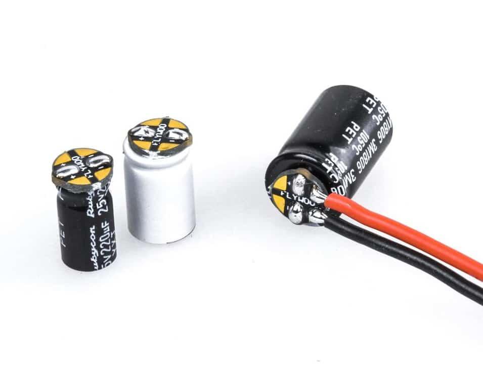 pcb cap capacitor condensateur
