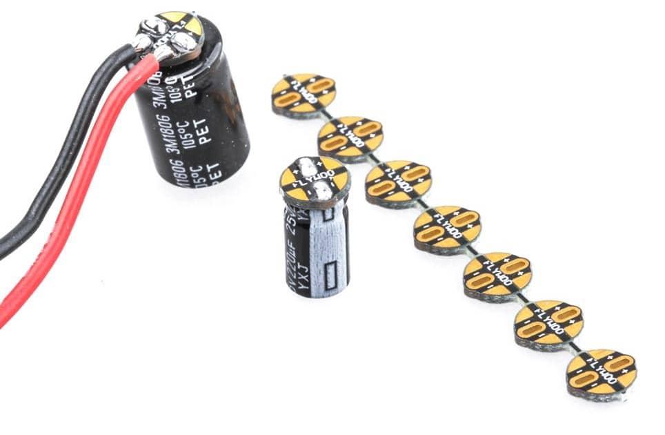 PCB pour condensateur
